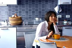 Cocina Imagen de archivo libre de regalías