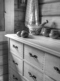 Cocina acogedora Fotografía de archivo