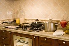 Cocina agradable Fotos de archivo