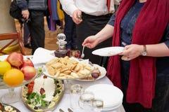 Cocina Belorussian Foto de archivo libre de regalías