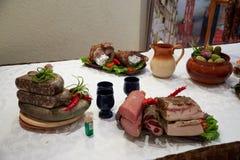 Cocina Belorussian Fotografía de archivo libre de regalías