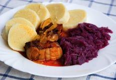 Cocina checa - gorrión de Moravian Fotos de archivo libres de regalías