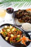 Cocina china Fotografía de archivo libre de regalías