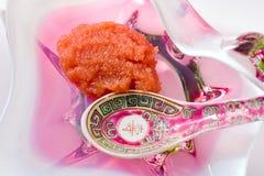 Cocina china - caviar Imagenes de archivo
