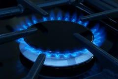 Cocina de gas Fotos de archivo libres de regalías