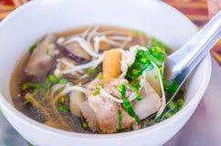 Cocina de Hokkien del chino Fotos de archivo libres de regalías