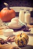 Cocina de la acción de gracias Foto de archivo libre de regalías