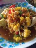 Cocina de la comida de Tam del som de Tailandia Fotografía de archivo libre de regalías