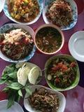 Cocina de la comida de Tam del som de Tailandia Fotos de archivo libres de regalías