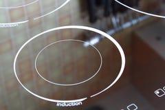 Cocina de la inducción Imagenes de archivo