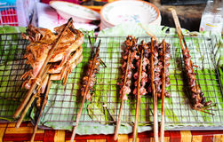 Cocina de Laos Foto de archivo libre de regalías