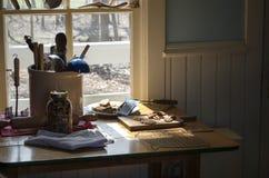 Cocina de las abuelas Fotos de archivo