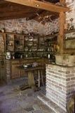 Cocina de madera Imagen de archivo libre de regalías
