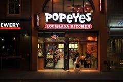 Cocina de Popeyeâs Luisiana Imágenes de archivo libres de regalías