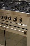 Cocina del acero inoxidable Imagenes de archivo