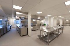 Cocina del hospital Imagen de archivo libre de regalías