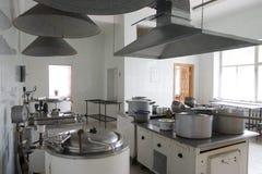Cocina del hospital Foto de archivo libre de regalías