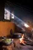 Cocina del Nepali Imagen de archivo