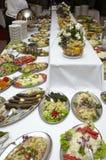 Cocina del restaurante del alimento del abastecimiento Imagen de archivo