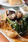Cocina del vegetariano del estilo chino fotografía de archivo libre de regalías