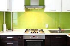 Cocina doméstica Imagen de archivo