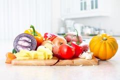 Cocina. El cocinar Fotografía de archivo libre de regalías