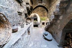 Cocina en el monasterio de Santa Catalina imagen de archivo libre de regalías