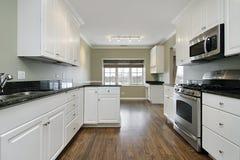 Cocina en hogar remodelado Foto de archivo