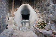 Cocina en Santa Catalina Monastery en Arequipa, Perú imagen de archivo