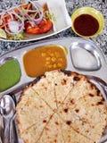 Cocina india fotografía de archivo