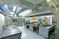 Cocina industrial Fotografía de archivo libre de regalías