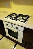 Cocina interior Fotos de archivo libres de regalías