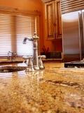 Cocina interior casera Fotografía de archivo libre de regalías
