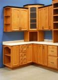 Cocina interior diseñada Imagen de archivo