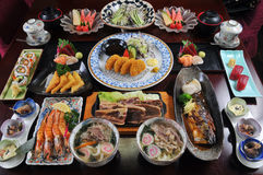 Cocina japonesa Fotografía de archivo