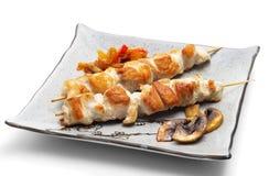 Cocina japonesa - filete del pollo Imágenes de archivo libres de regalías