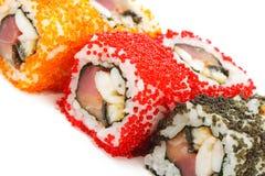 Cocina japonesa - sushi Fotografía de archivo