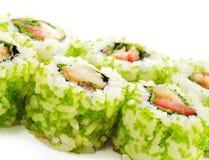Cocina japonesa - sushi Fotos de archivo libres de regalías