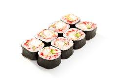 Cocina japonesa - sushi Foto de archivo libre de regalías