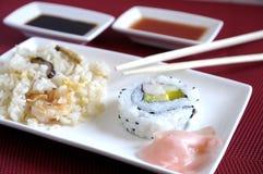 Cocina japonesa tradicional Foto de archivo libre de regalías