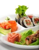 Cocina japonesa - Yakitori Imagen de archivo libre de regalías