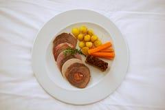 Cocina local de la isla de Azores Imagen de archivo libre de regalías
