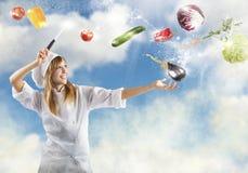 Cocina mágica Fotos de archivo libres de regalías