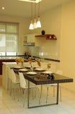 Cocina moderna Fotos de archivo