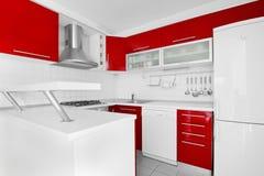 Cocina moderna imagen de archivo libre de regalías