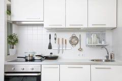 Cocina moderna fotografía de archivo