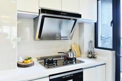 Cocina moderna Fotografía de archivo libre de regalías