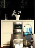 Cocina moderna de las FO del detalle Foto de archivo libre de regalías