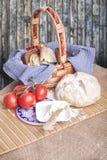 Cocina rústica del país Imagen de archivo