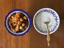 Cocina real tailandesa Fotos de archivo libres de regalías